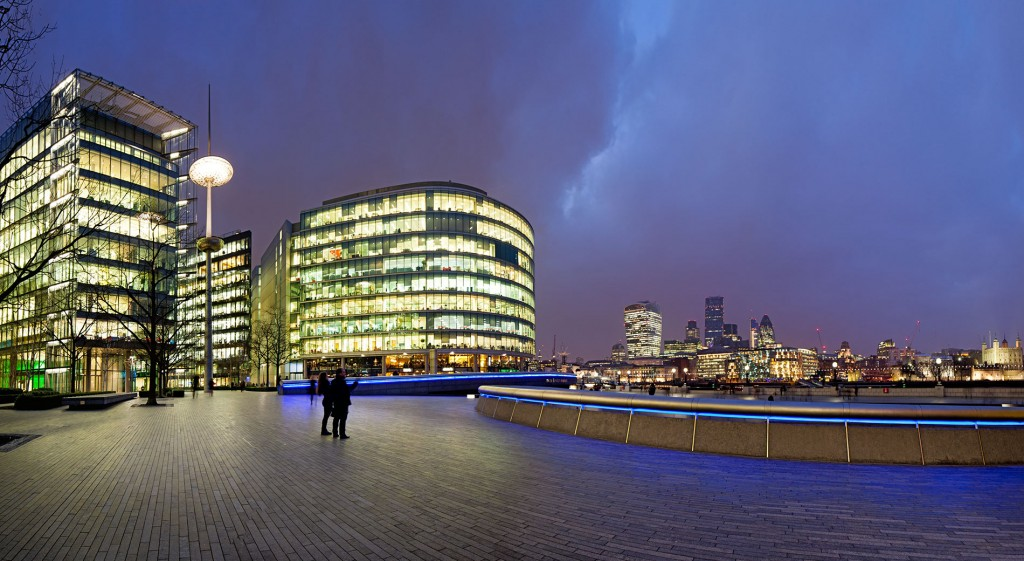 classic London Skyline