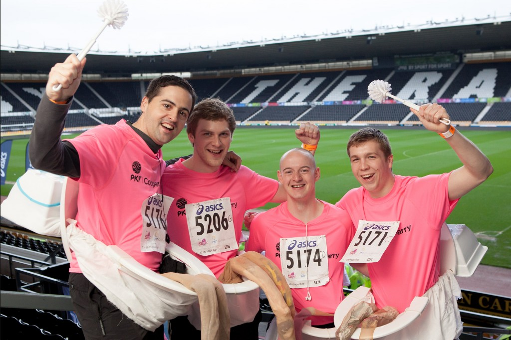 Derby 10k Charity team