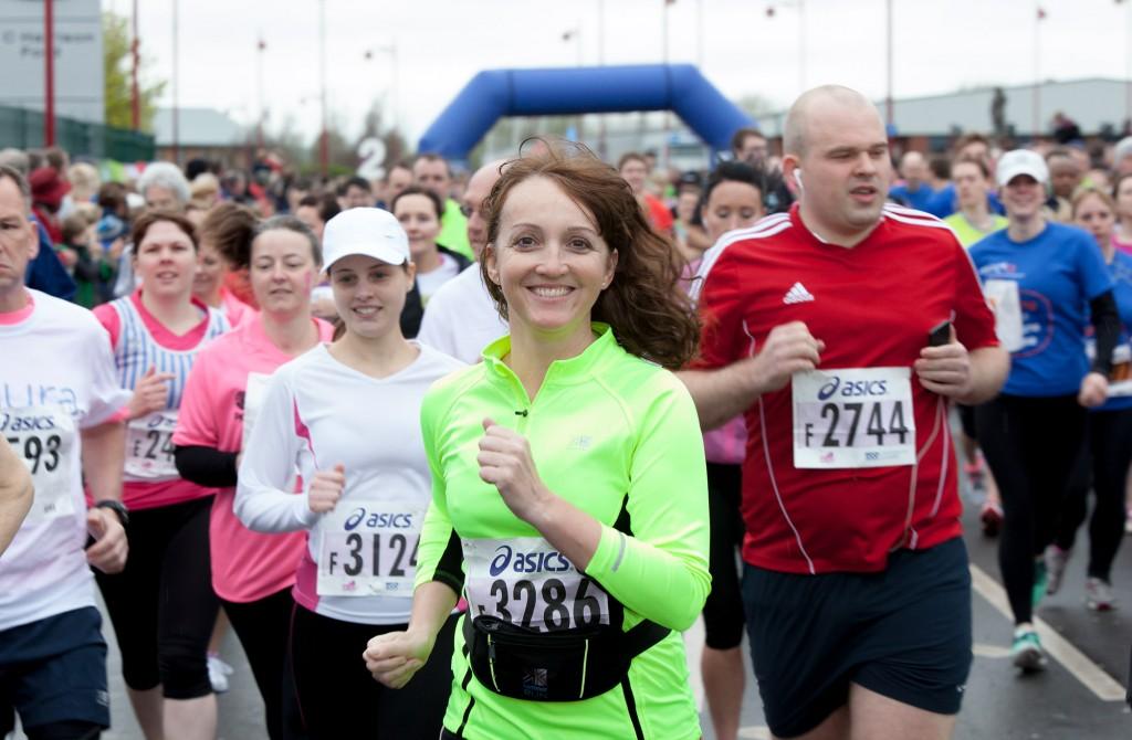 Derby 10k runner