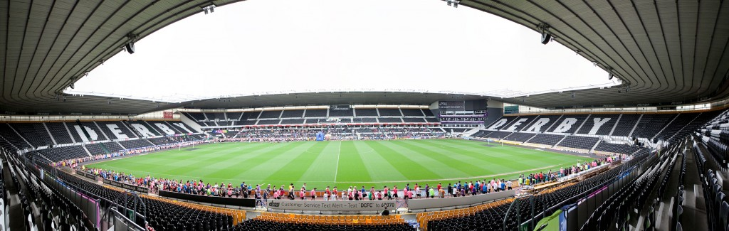 Panoramic view of the iPro Stadium
