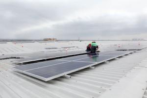 solar array castle donington
