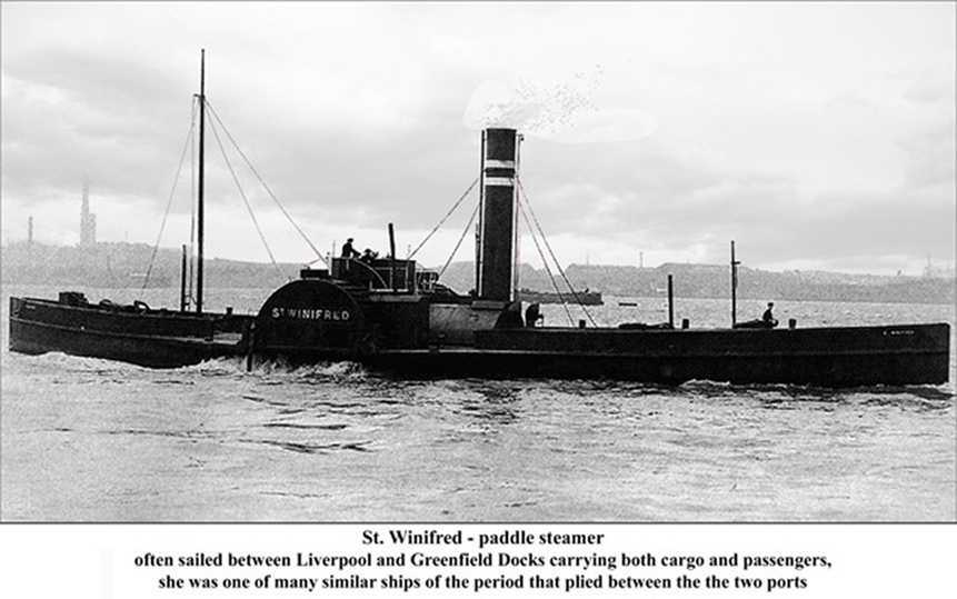 St Winifred Paddle Steamer