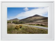Yr Eifl and the road to Nant Gwrtheyrn white frame