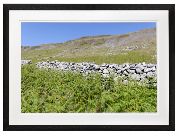 Dry stone wall, North Wales