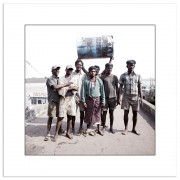 Indian Harbour Workers and fishermen, Cortalim, India