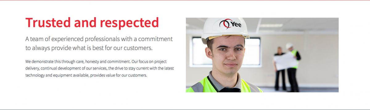 Young apprentice portrait web banner