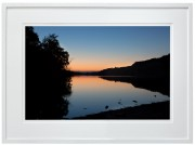 Sunset-over-Llyn-Padarn-white-frame