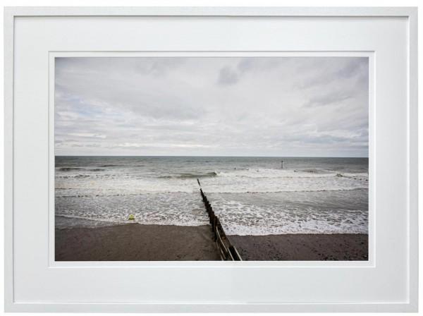 Winters day on Tywyn Beach, North Wales