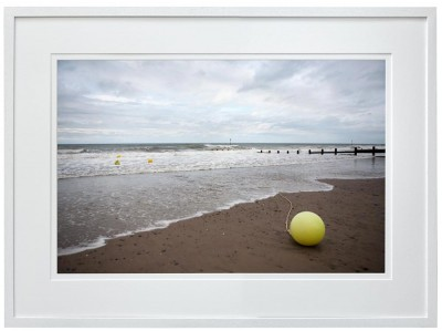 Buoy washed up on Tywyn Beach