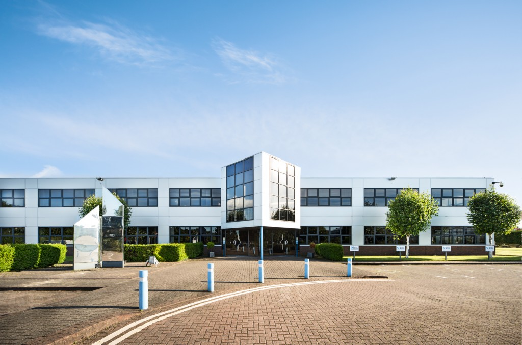 Architectural shot of Barron McCann building