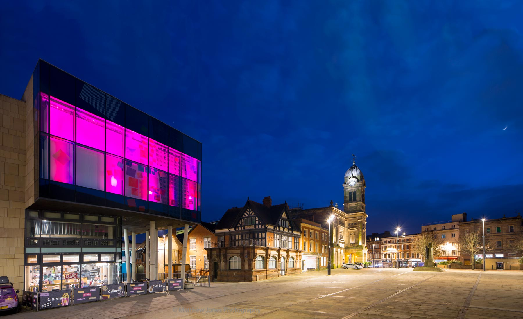 Derby QUAD and the Guildhall Theatre