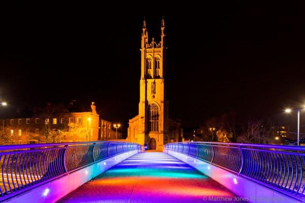 Saint Alkmunds Way footbridge