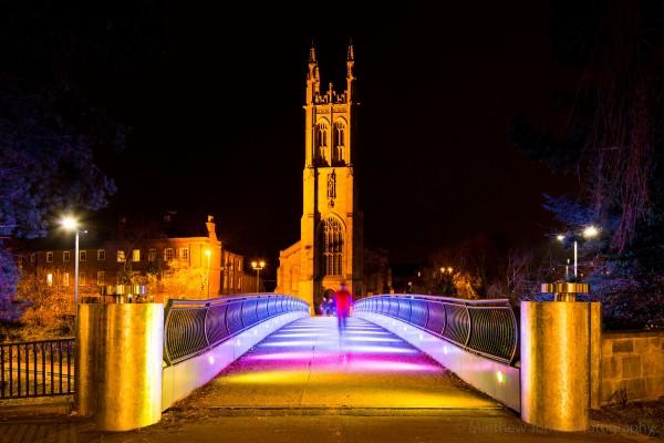 Saint Alkmunds Way footbridge Derby