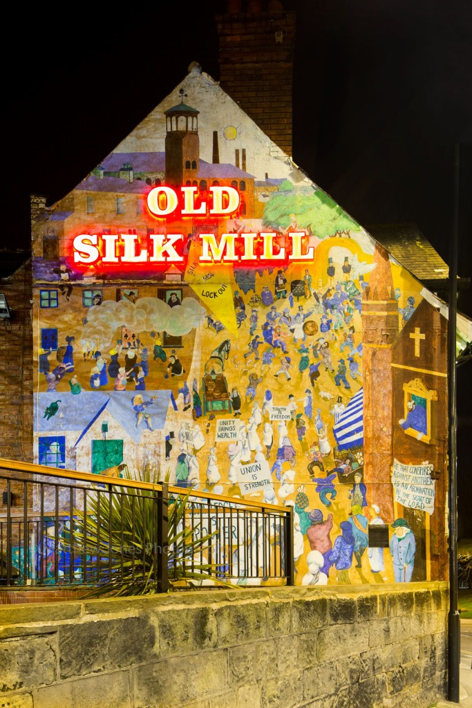 Old Slik Mill Murial Derby