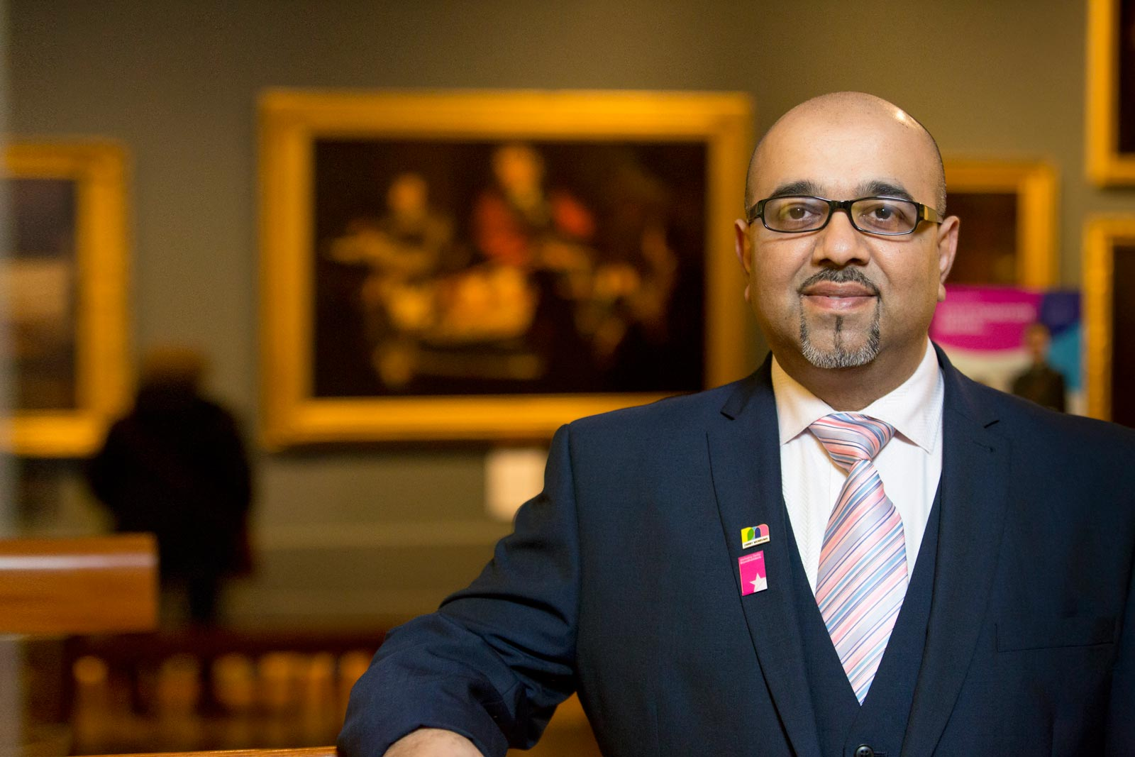 Derby Museum's Mo Suleman