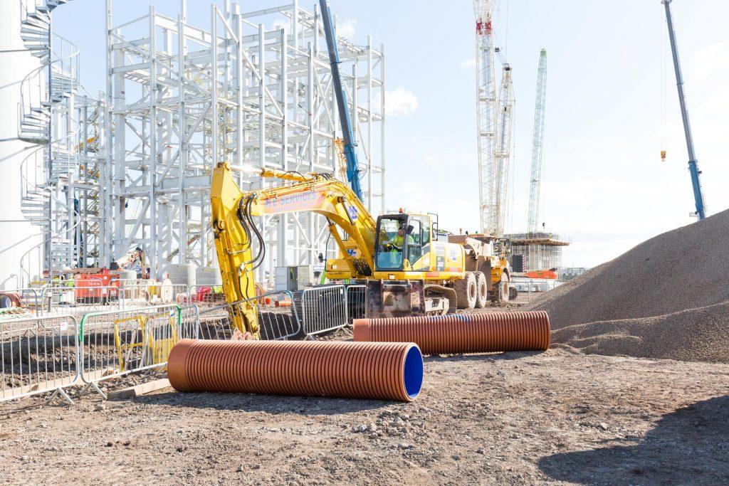 36 ton excavator