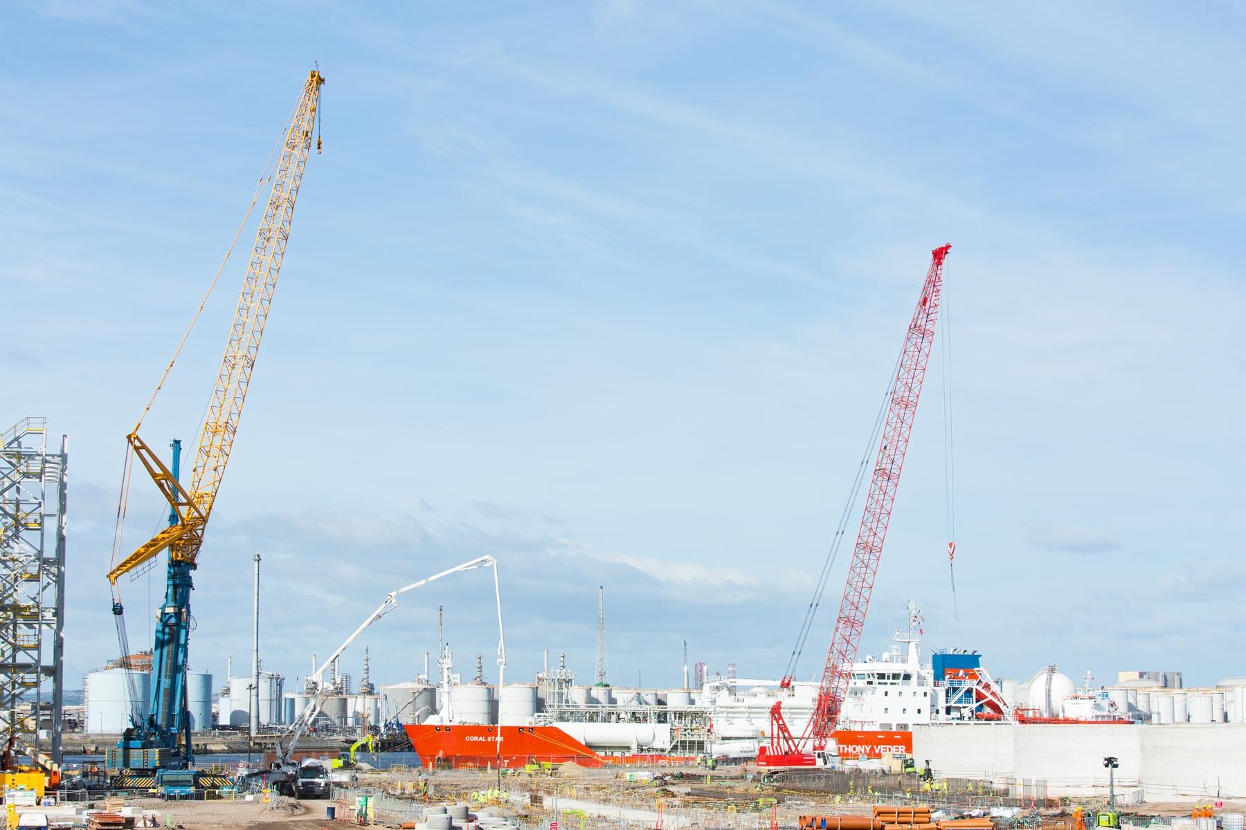 Fuel silos