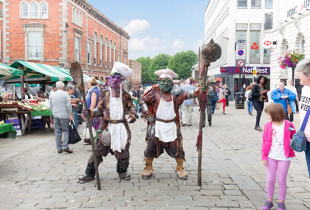 Medieval Fun Day, Chesterfield