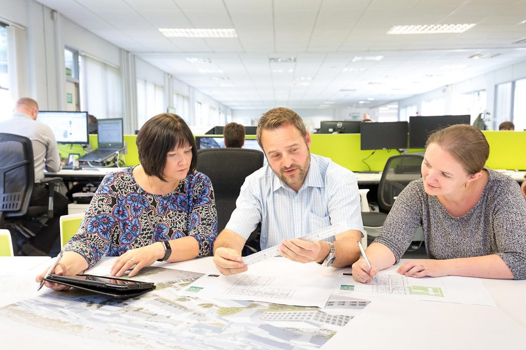 Design work at Wittam Cox Architects