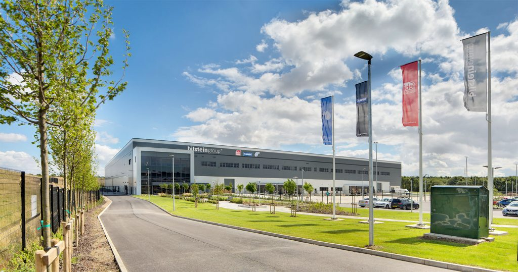 Bilstein Group building, Chesterfield, architectural photography
