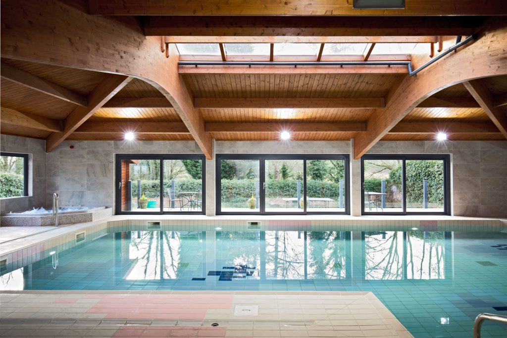 Interior photography swimming pool Sandybrook Country Park