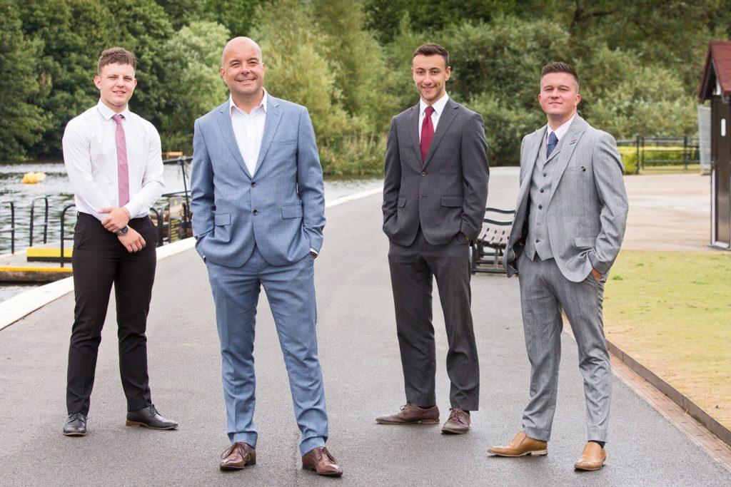 Corporate image formal business men