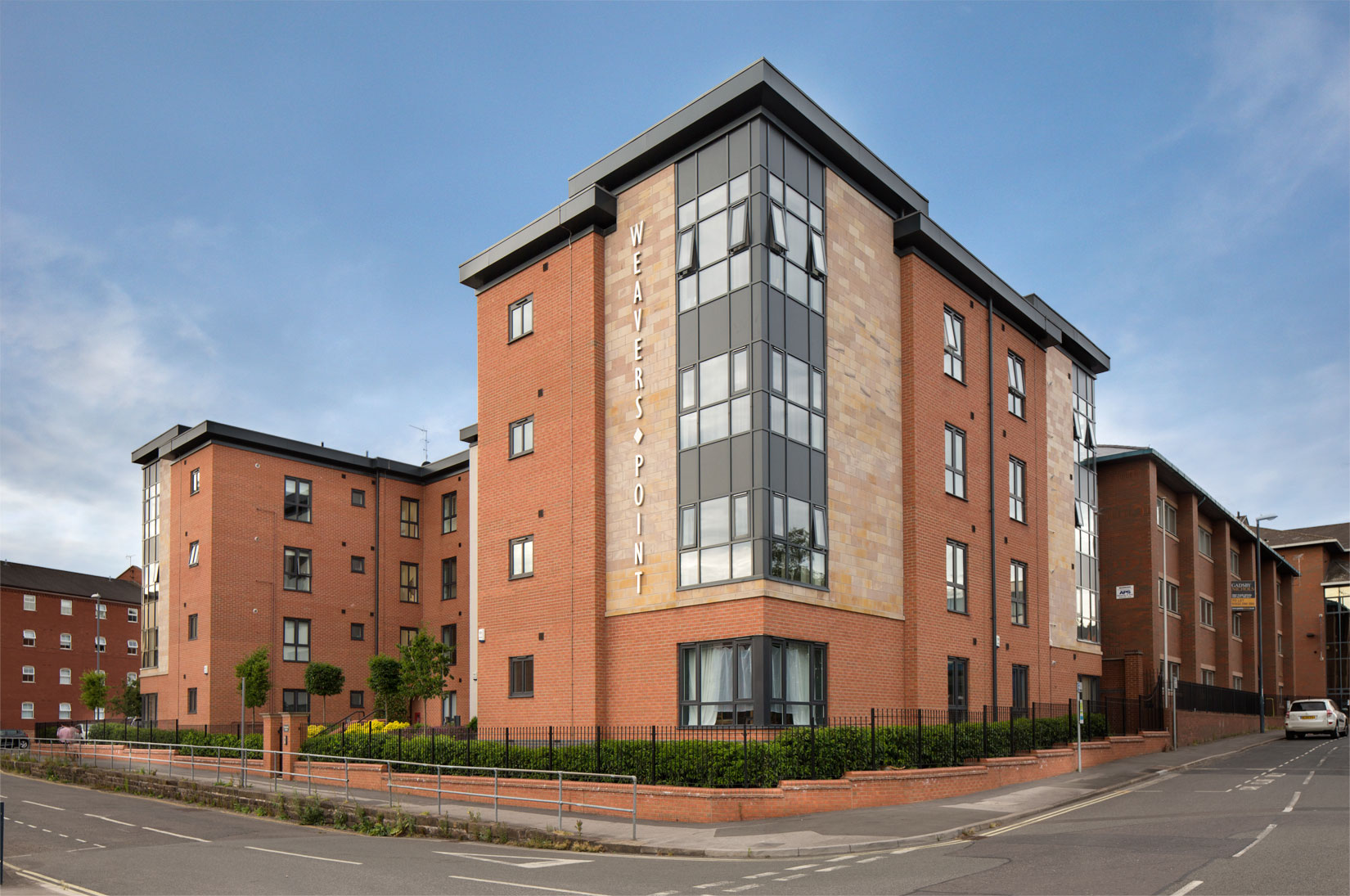 New residential apartments in Derby