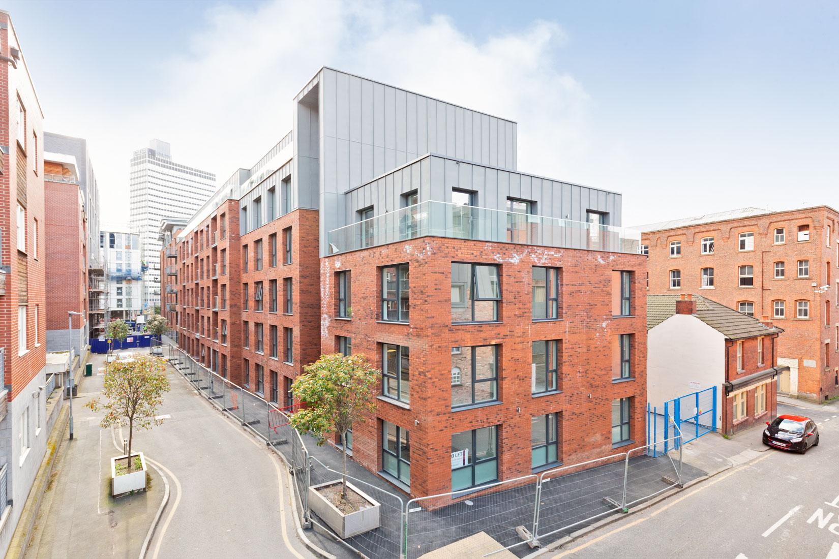 Apartment block Manchester