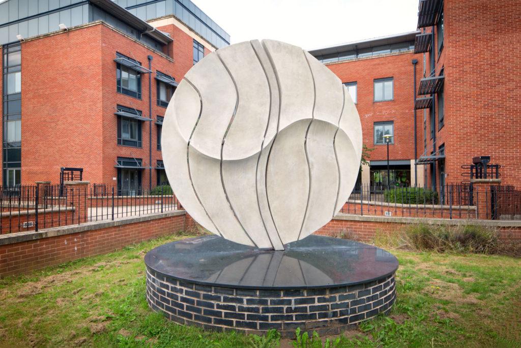 Angela Conner disk Sculpture