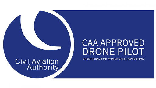 CAA Approved Drone Operator logo awarded to Matthew Jones