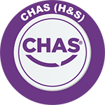 CHAS accreditation logo awarded to Matthew Jones Photography