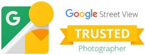Google Trusted Photographer logo awarded Matthew Jones for Street View