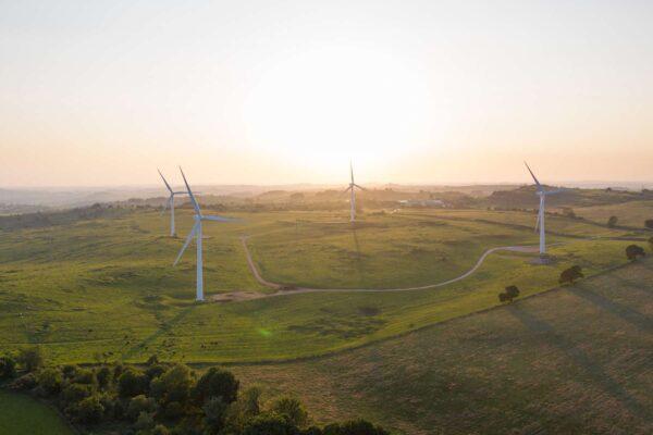 Derbyshire Landmarks - Wind Turbines