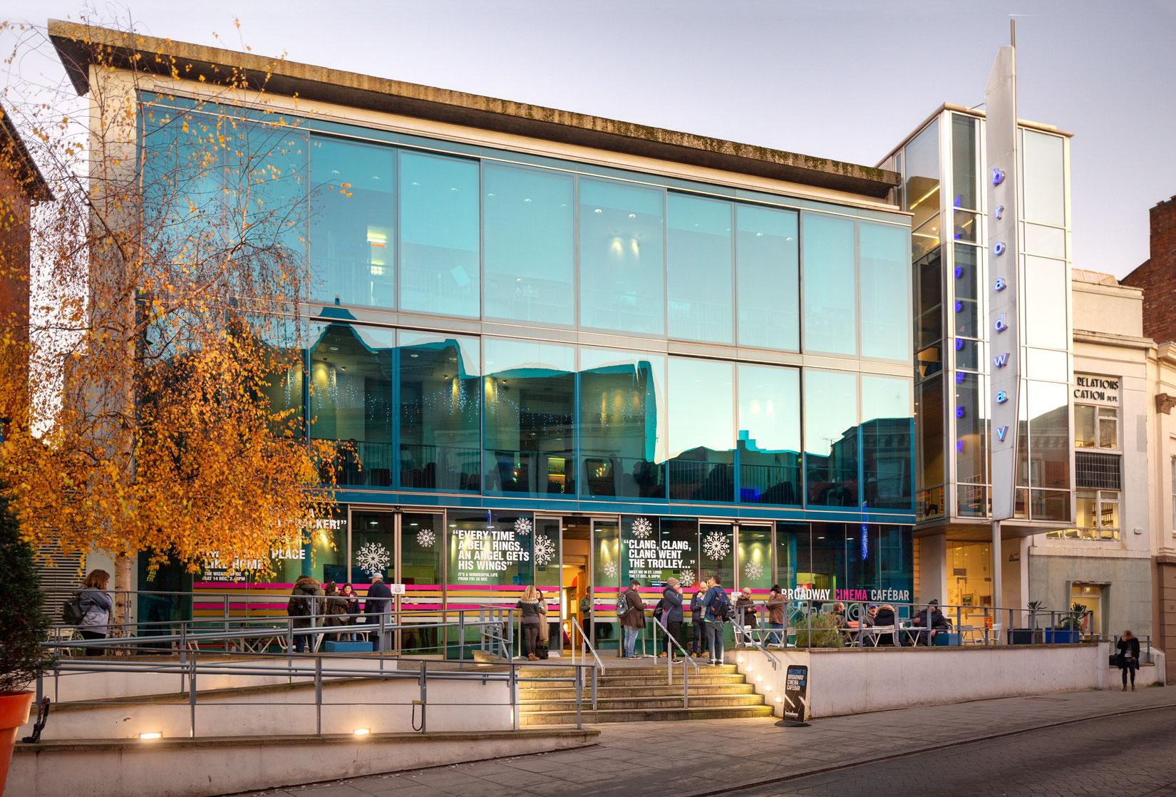 Nottingham Architecture photography, the broadway cinema
